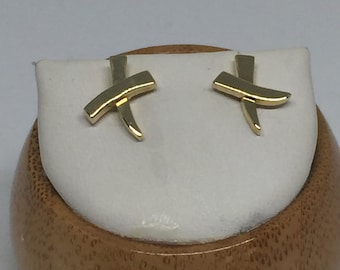 vintage Tiffany & Co. 18k Paloma's graffiti X earrings