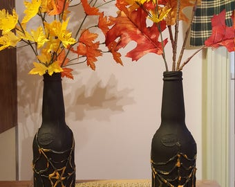 Mike's Hard Flower Vase Bottle - Halloween Decor
