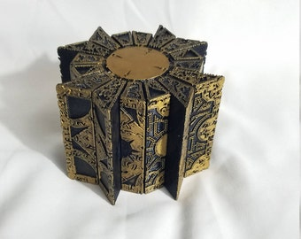 3D Printed Weathered HELLRAISER Cube Lemarchand's Puzzle box Lament Configuration prop replica