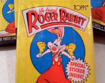 Trading Cards- Who Framed Roger Rabbit