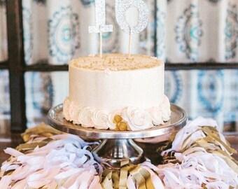 Cake / Highchair Tassel banner