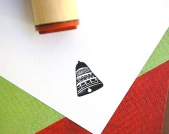 Bell Rubber Stamp