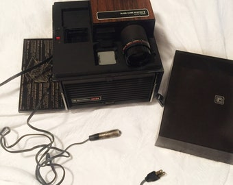 Bell And Howell AF66 Slide Projector, Bell and Howell Slide Cube Projector, Bell & Howell Slide Projector, Vintage Slide Projector, 8mm