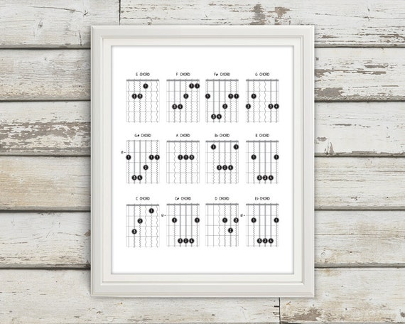 Guitar Chords Guitar Guitar Chord Chart Chord Chart Music