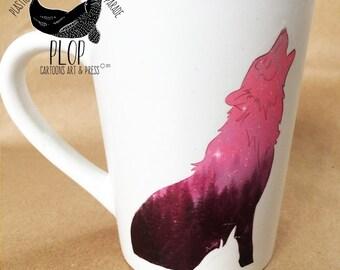 Forest Wolf Coffee Mug