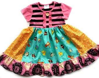 Pokemon GO dress custom boutique girls dress momi boutique