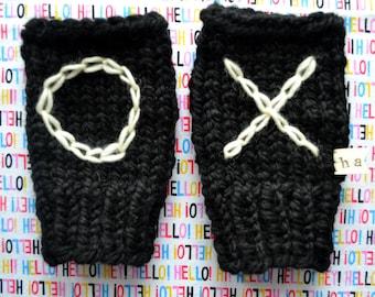 1-Hour Fingerless Gloves - PATTERN - INSTANT DOWNLOAD
