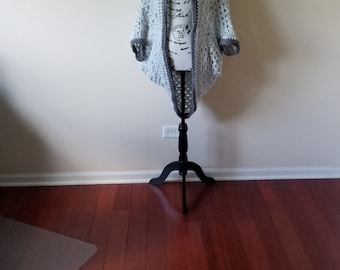 Marle Grey Cocoon Sweater