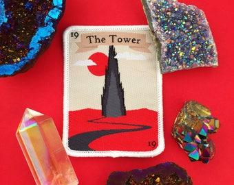 The Dark Tower Tarot Card Iron On Patch