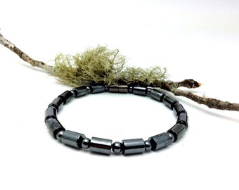 Magnetic Bracelet/Anklet Holistic Pain Therapy Black Custom Sized Wellness Health Complimentary GIFT CARD & Gift bag