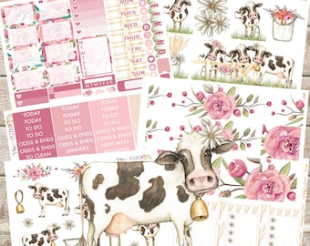 FLIRTY GERTIE// Planner STICKERS Individual Sheets sized for the Erin Condren Life Planner