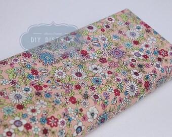 Pink liberty style Japanese fabric