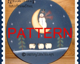 painting pattern, epattern, Do you see what I see, snowman pattern, christmas pattern,  tole painting pattern, primitive pattern, sheep