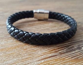 John - Leather Men's Bracelet