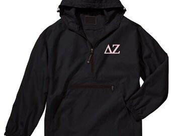 Delta Zeta Unlined Anorak (Black)
