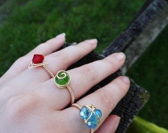 The Legend of Zelda® Three Ring Set