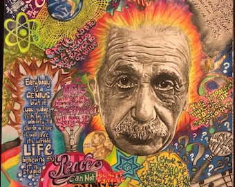 Einstein Print A2