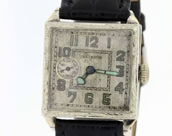 1920s Gold Filled Illinois wrist watch