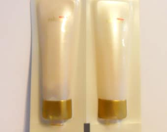 Vintage 1990 Fire and Ice by Revlon Perfumed Body Wash and Body Lotion Sample Packets