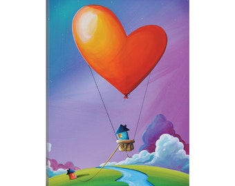 iCanvas Don't Let Love Slip Away Gallery Wrapped Canvas Art Print by Cindy Thornton