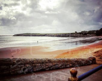 Stormy Skies Over Barry Island