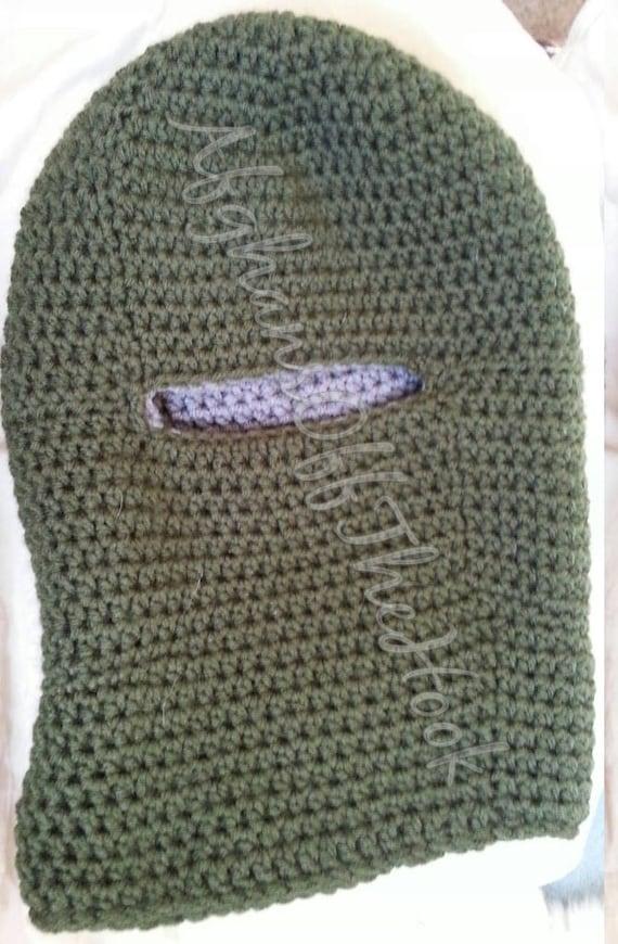 Double Thick Crochet Balaclava Pattern Balaclava Pattern