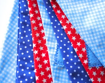Stars, gingham and dots - Personalised name bunting
