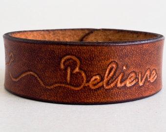 Personalized Leather Bracelet, Leather Bracelet Men, Womens Bracelet, Custom Bracelet Womens, Initials Engraved Bracelet, Mens Bracelet