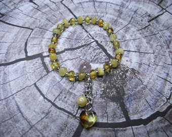 Natural Baltic Amber Baby Bracelet