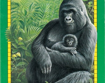 Gorillas by Patricia Demuth, illustrated by Paul Lopez
