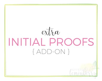 Extra Initial Proofs Add-On