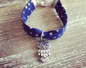 Lovely bracelet liberty Navy Blue Star