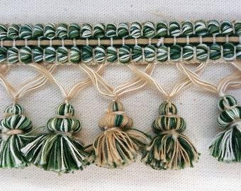 Nina Campbell Custom Fringe Trim - Green