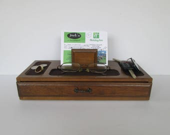 Mens Dresser Valet Jewelry Box