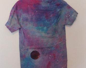 Small Size Tie Dye Galaxy Shirt