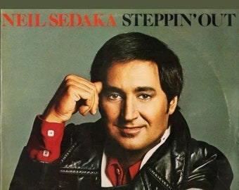 Neil sadarka stepping out vinyl lp
