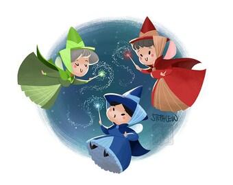 Cutie Fairy Godmothers