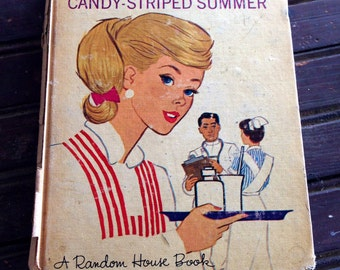 Barbie's Candy-Striped Summer Hardcover Book | 1965 Barbie Novel