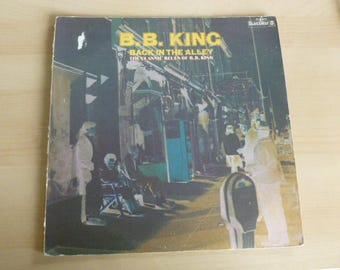 B.B. King Back In The Alley The Classic Blues Of B.B. King Vinyl Record LP BLS-6050 Blues Way ABC Record 1973