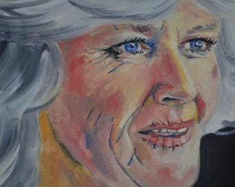 Camilla oil painting