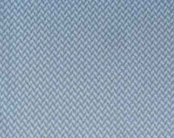 Hamburger Love Corn Row knit col. 3 white light blue biofabric jacquard jersey organic cotton fabric Albstoffe this summer