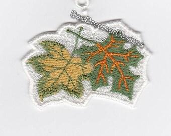 Fall Maple leaf ornament