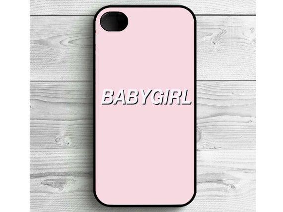 Phone Case Pink BABYGIRL Tumblr Phone Case Girly For IPhone