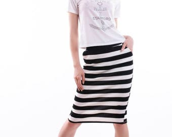Women's double suit (skirt, T-shirt)