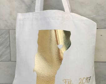 State of Love Tote Bag