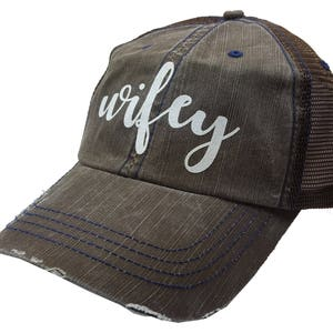 Womens Trucker Hat Etsy