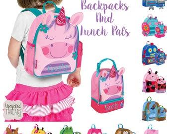 Toddler Backpack, Boy's Backpack, Girls Backpack, Monogram Backpack, Preschool Backpack, Back To School, Monogrammed Backpack, PreK Backpack