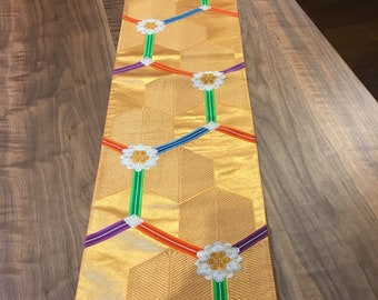 Table runners  (vintage japanese sash)
