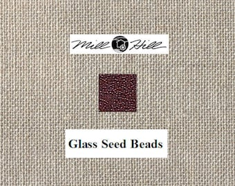 Mill Hill - Glass Seed Beads - Royal Plum 02012- 11/0 2.2mm - 4.54 Grams - By the Package
