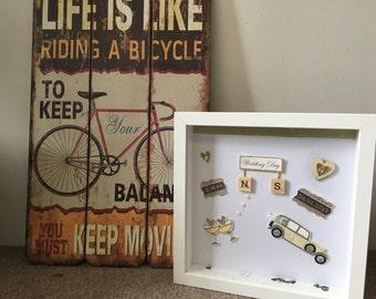 Wedding Frame/ Wedding gifts/ Personalised wedding frame/ perfect gift